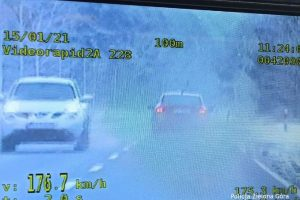 156 km/h na terenie zabudowanym – po raz drugi straciłby prawo jazdy