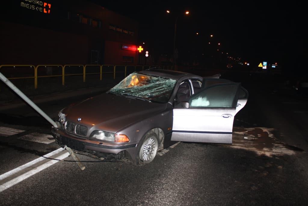 24-latek cudem uniknął śmierci podczas ulicznego wyścigu
