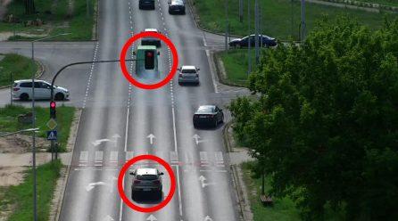 """Toruńscy policjanci brali udział w akcji pod nazwą """"Bezpieczny pieszy"""""""